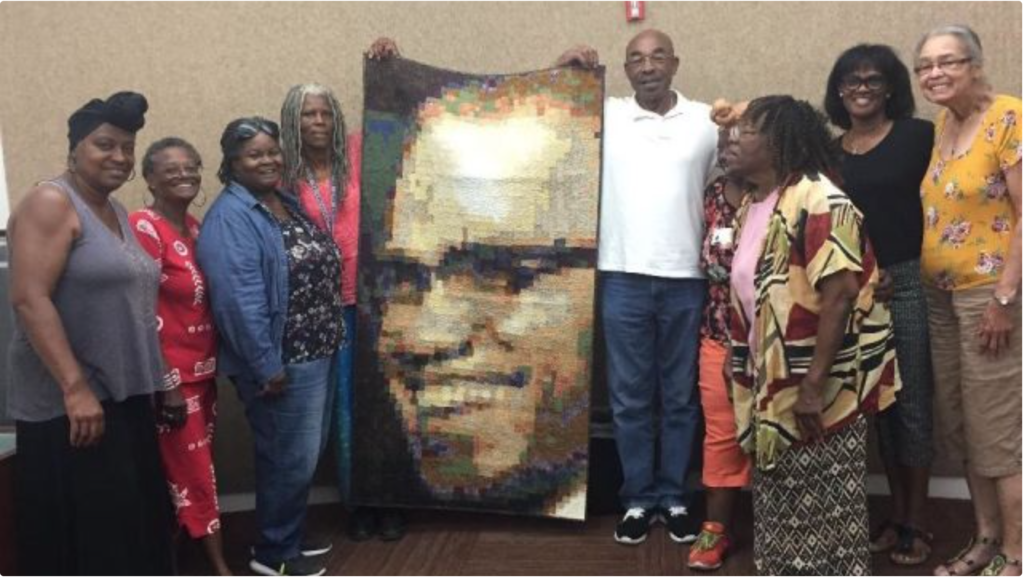 *FUNDRAISER* Malcolm X Quilt Preservation and Mounting