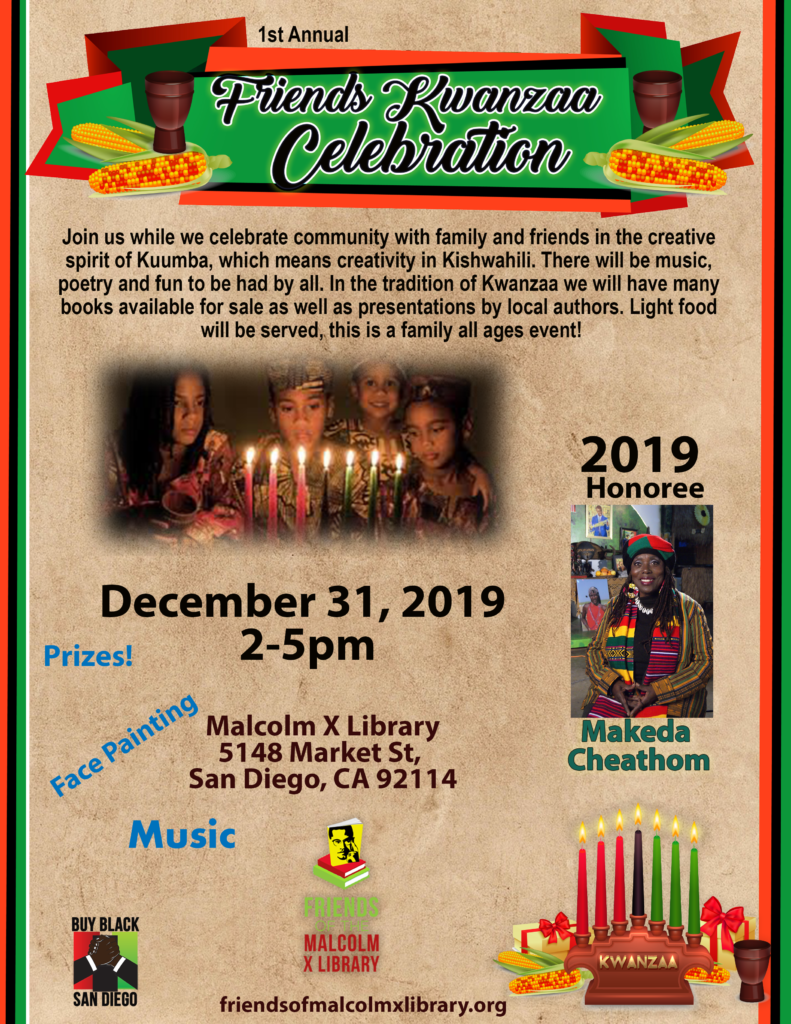 Friends Kwanzaa Celebration